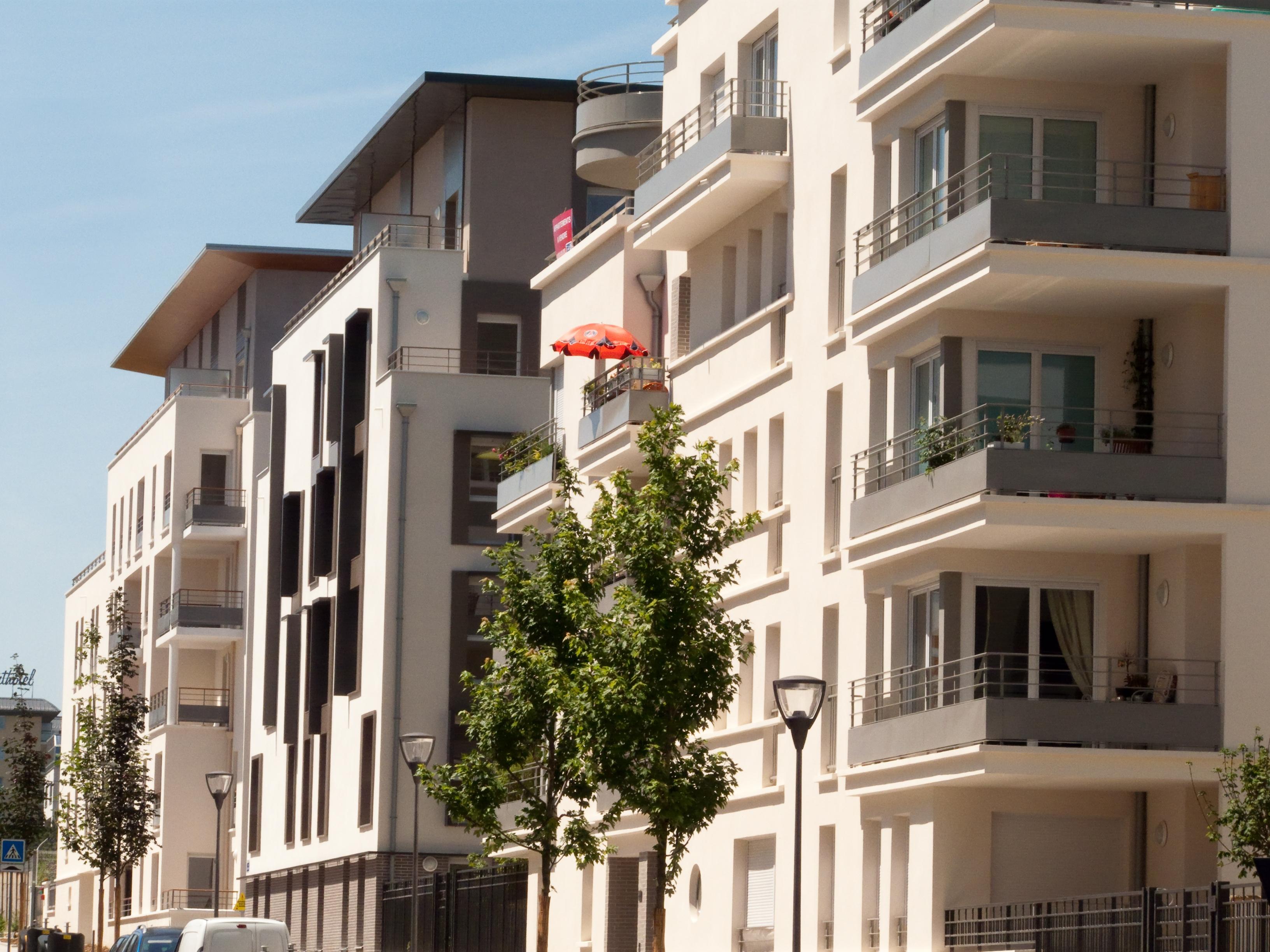 Baisses des ventes de logements neufs