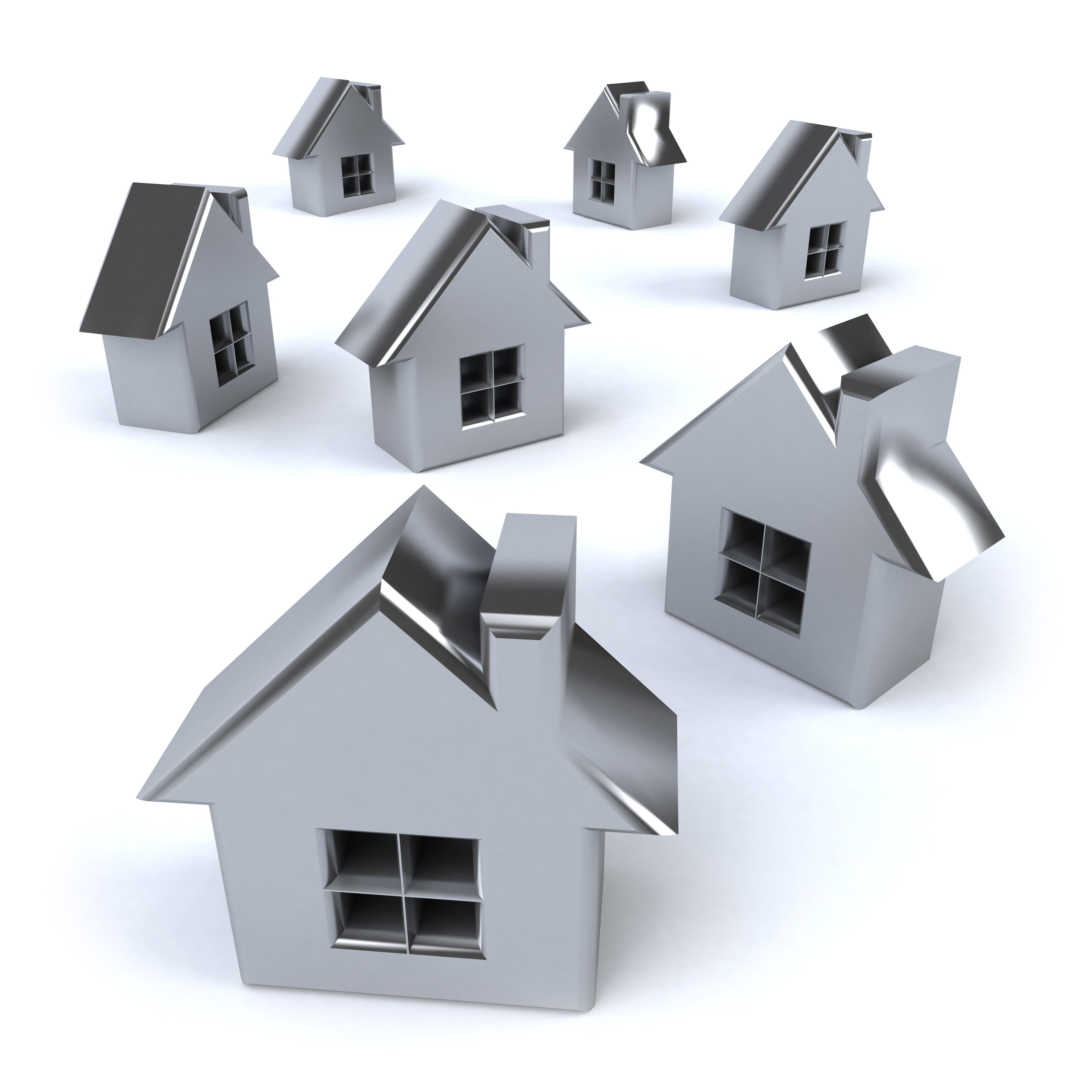Lotissement de maisons