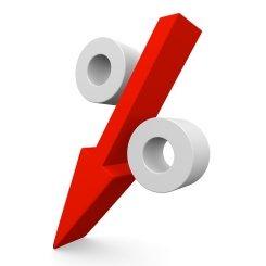 baisse des taux d'intérêts