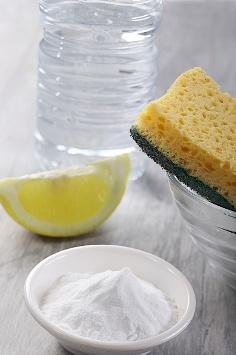 ménage citron bicarbonate