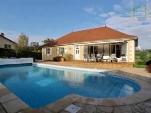 maison avec piscine bourgogne