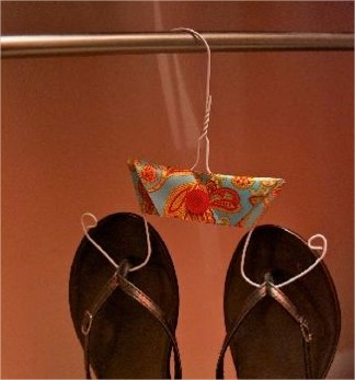 cintre coupé pour chaussures