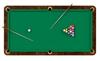 Open billard am ricain grenoble au club 109 une belle - Comment fabriquer une table de billard ...