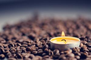 Bougie café