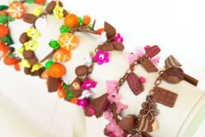Bracelets gourmands fimo