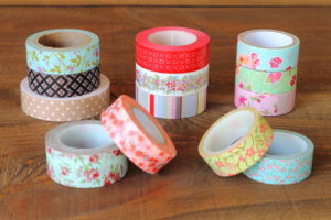 Rouleaux masking tape diy