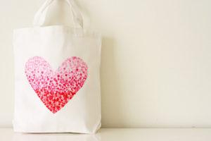 Tote bag customisé peinture sac en toile