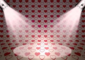 chambre romantique éclairage