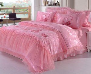 Couvre-lit romantique princesse