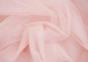 Rideaux en dentelle rose