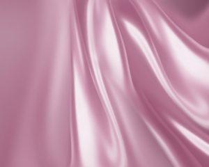 Rideaux romantiques en soie rose