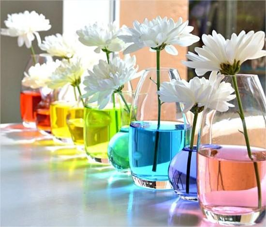 Idées déco table de printemps