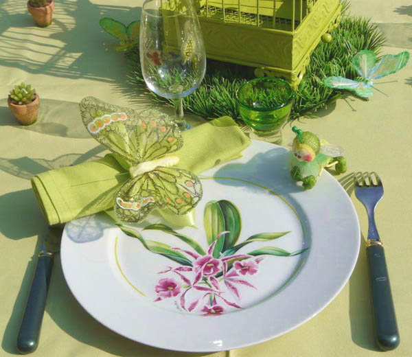 table de printemps idees deco