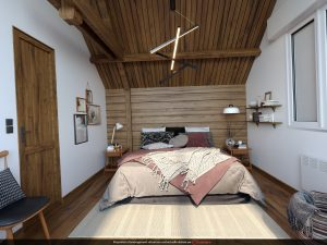 projection 3D immobilier