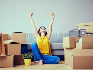 déménagement, déménager, cartons, organisation, emménagement