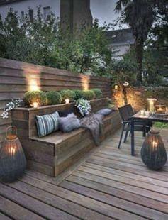 jardin, extérieur, terrasse, balcon, salon de jardin, extérieur